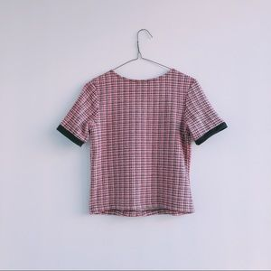 Zara Tops - Zara Tweed Tee